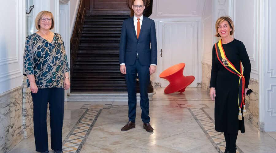 Lieve Van Lancker: nieuwe burgemeester De Pinte