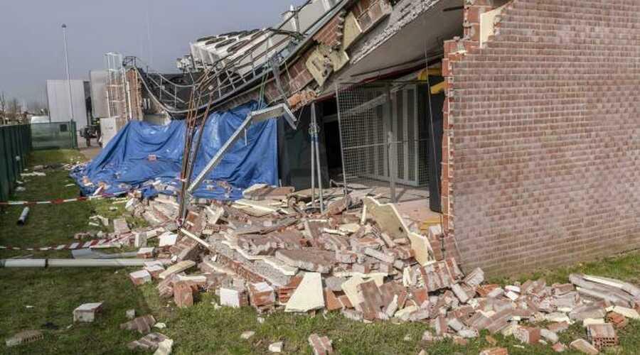 Incident gebouw Telenet: nooddiensten bleven bereikbaar