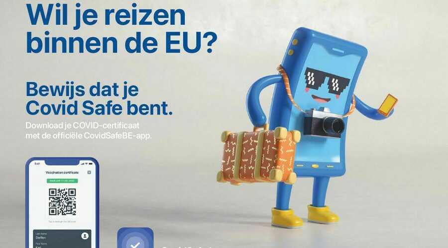 Reizen binnen EU met COVID-certificaat vanaf 1 juli