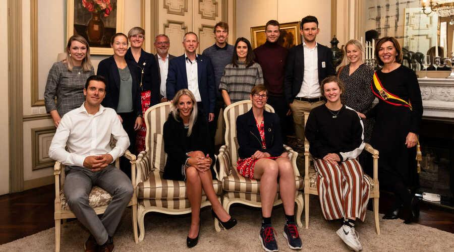 Huldiging Oost-Vlaamse topatleten