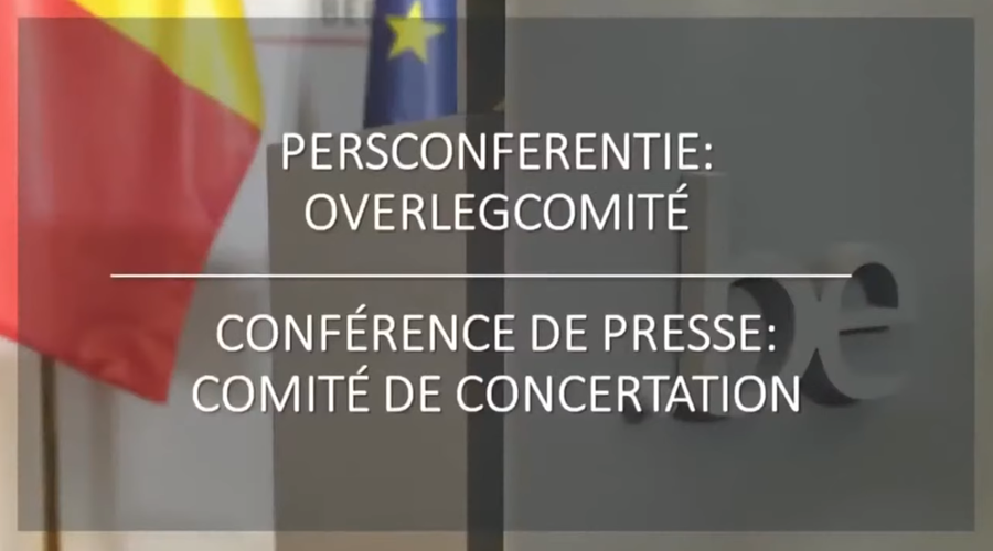 Overlegcomité: reiscontroles, mondmaskers, evenementen
