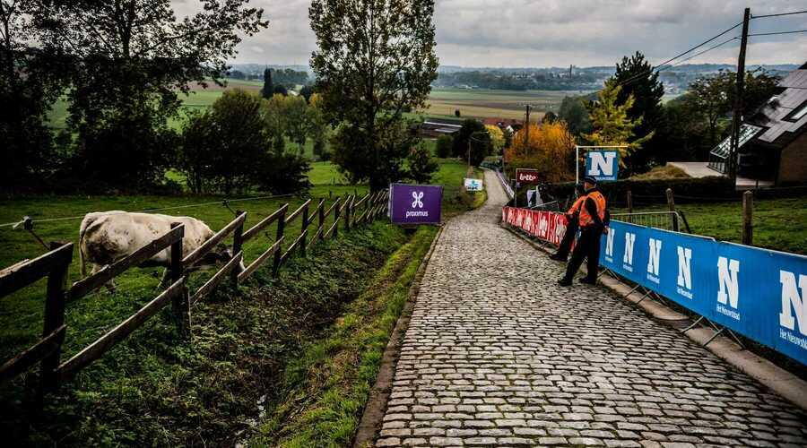 Quasi geen covid-overtredingen tijdens de Ronde